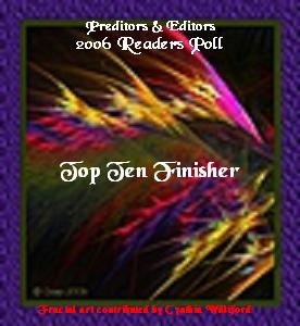 Top Ten Finisher: Preditors & Editors Readers' Poll